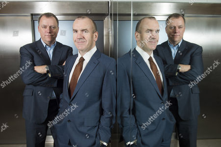 Editorial image of Terry Leahy and Andy Higginson, London, Britain - 02 Dec 2013