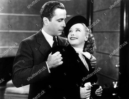 Stock Picture of Humphrey Bogart, Priscilla Lane