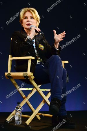 Editorial picture of Patricia Cornwell Q&A session at the Apple store, London, Britain - 17 Dec 2013
