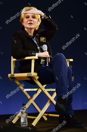 Editorial image of Patricia Cornwell Q&A session at the Apple store, London, Britain - 17 Dec 2013