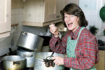 Stock Image of Clare Latimer - Downing Street Caterer. Clare Latimer Owns A Catering Company 'clare's Kitchen'.
