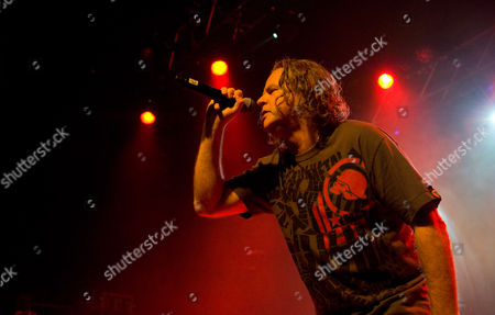 Editorial photo of Pop Will Eat Itself in concert at The Picture House, Edinburgh, Scotland, Britain - 17 Dec 2013