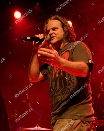 Stock Picture of Pop Will Eat Itself - Co-Singer Graham Crabb