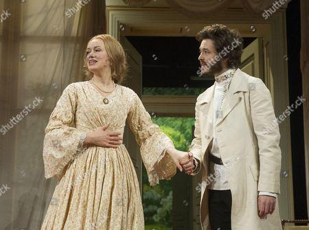 Alexander Vlahos as Yeletsky, Lucy Briggs-Owen as Olga