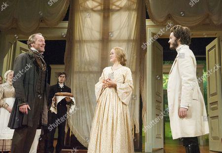 Iain Glen as Kuzovkin, Lucy Briggs-Owen as Olga, Alexander Vlahos as Yeletsky,