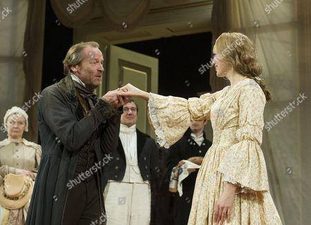 Iain Glen as Kuzovkin, Lucy Briggs-Owen as Olga,