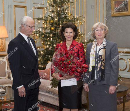 King Carl Gustaf, Queen Silvia, Chris Heister