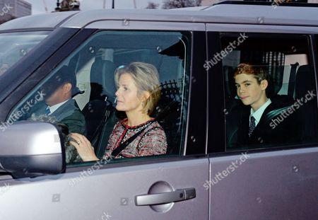 Viscountess Serena Linley and Charles Armstrong-Jones
