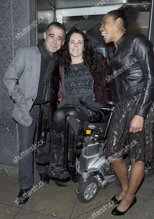 Michael Le Vell, Cherylee Houston and Krissi Bohn