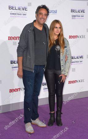 Brad Garrett and daughter Hope Violet Garrett