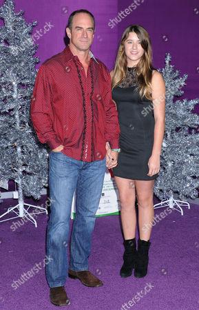 Christopher Meloni with daughter Sophia Eva Pietra Meloni