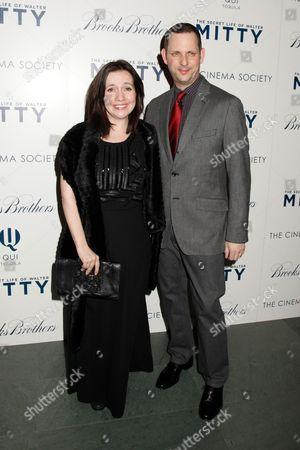 Domenica Cameron-Scorsese and husband Tony Frenzel