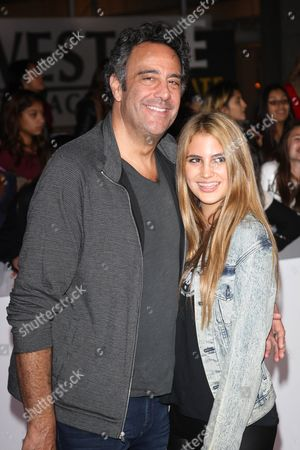 Stock Photo of Brad Garrett and daughter Hope Violet Garrett