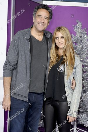 Brad Garrett and daughter Hope Violet Garrett