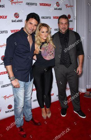 Frankie Marino, Lacey Schwimmer, Joey Fatone