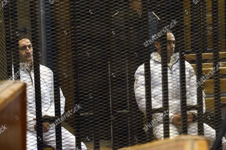 Editorial image of Sons of former President Mubarak acquitted of corruption charges, Cairo, Egypt - 19 Dec 2013