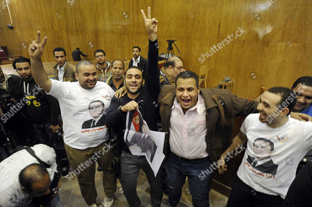 Editorial picture of Sons of former President Mubarak acquitted of corruption charges, Cairo, Egypt - 19 Dec 2013