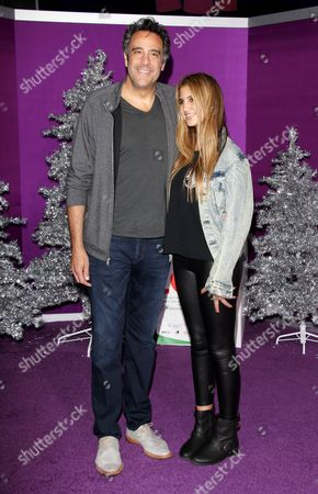 Hope Violet Garrett and Brad Garrett