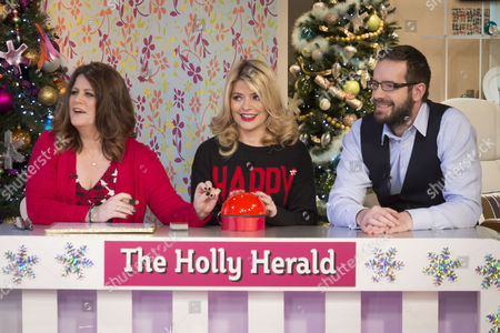 Petrie Hosken, Holly Willoughby and Stig Abell