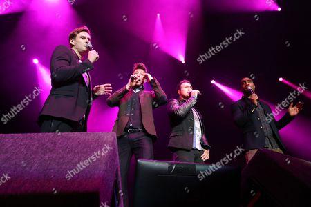 Blue - Lee Ryan, Duncan James, Antony Costa and Simon Webbe