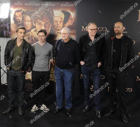Olivier Martinez ; Tom Payne ; Noah Gordon ; Stellan Skarsgard ; Philip Stolze