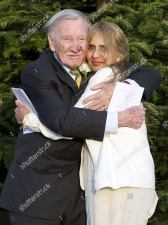 Leslie Phillips and Zara Carr