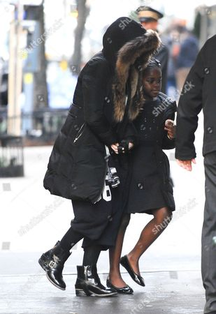 Madonna and daughter Mercy James