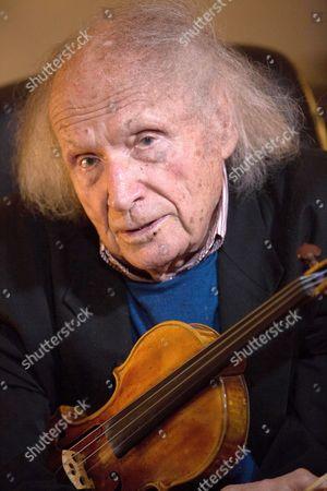 Editorial picture of Violonist Ivry Gitlis, Paris, France - 29 Nov 2013