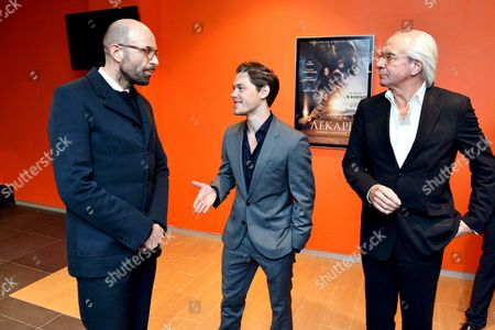 Philipp Stölzl, Tom Payne and Wolf Bauer