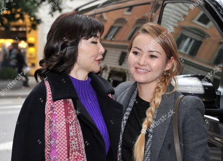 Alma Shalabayeva and daughter Madina