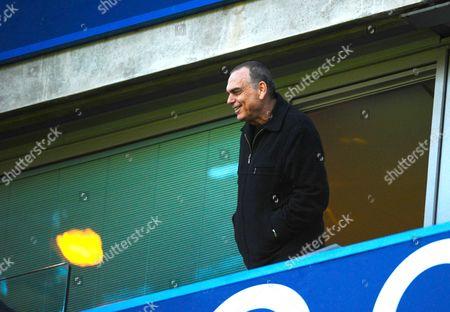 Ex Chelsea manager Avram Grant looks on