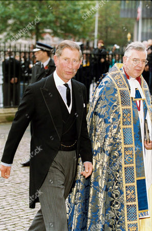 PRINCE CHARLES WITH ARCHBISHOP