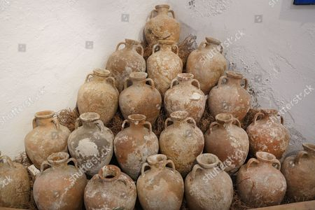 Amphorae from Erythrai, Museum of Underwater Archaeology in the Castle of St. Peter from the Knights of St. John