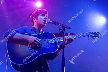 The British singer-songwriter Josh Kumra performing live at the Blue Balls Festival, KKL Lucerne Concert Hall