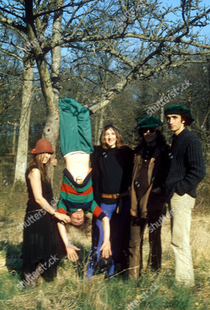 Stock Photo of Gong and Daevid Allen