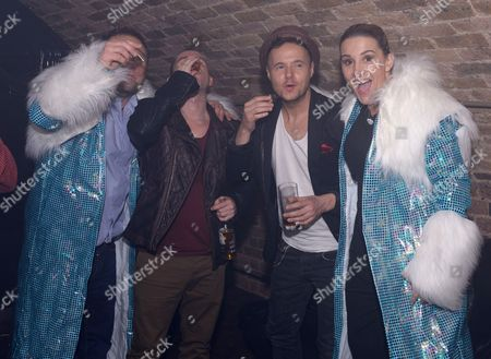 Editorial picture of New Year's celebrations at G.A.Y, London, Britain - 31 Dec 2013