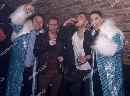 Editorial photo of New Year's celebrations at G.A.Y, London, Britain - 31 Dec 2013