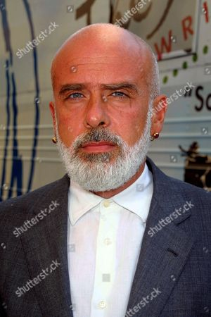 "Francesco Clemente arrives at Sony Music Studios in New York City on September 22, 2001 to participate in recording a new version of Nile Roger's classic song ""We Are Family"". Part of the proceeds from the record, will support the World Trade Center victims through a donation to the community work of the American Red Cross.