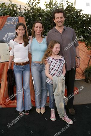 Charles Shaughnessy and family