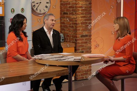 Aasmah Mir, Kevin Maguire and Kate Garraway