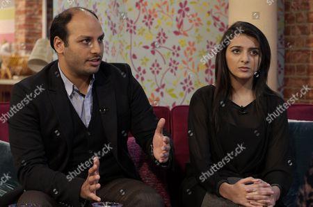 Sara Khan and Shah Nawaz Khan