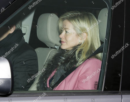 Members Of The Royal Family Arrive At Buckingham Palace Today For A Pre Christmas Lunch 19th December 2012. Lady Helen (windsor) Taylor.