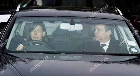 Editorial photo of Members Of The Royal Family Arrive At Buckingham Palace Today For A Pre Christmas Lunch 19th December 2012. Lady Sarah Armstrong-jones.