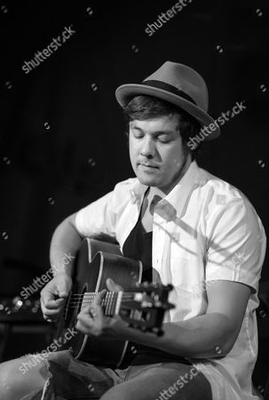 Editorial image of Jon Kenzie in concert at The Bedford, Balham, London, Britain - 06 May 2013