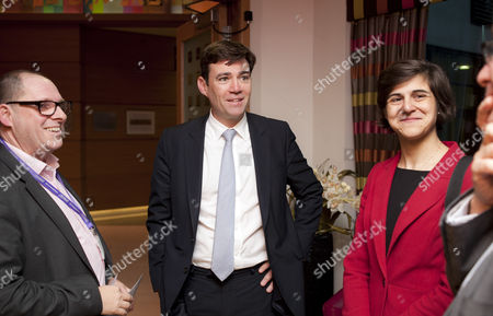 Simon Morris, CEO of Jewish Care, Andy Burnham MP, Shadow Secretary of State for Health, Sarah Sackman, Labour Prospective Parliamentary Candidate for Finchley and Golders Green
