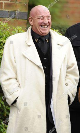 Editorial photo of Ronnie Biggs funeral, Golders Green Crematorium, London, Britain - 03 Jan 2014