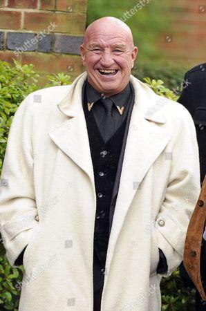 Editorial picture of Ronnie Biggs funeral, Golders Green Crematorium, London, Britain - 03 Jan 2014