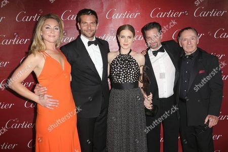 Elisabeth Rohm, Bradley Cooper, Amy Adams, Shea Whigham and Paul Herman