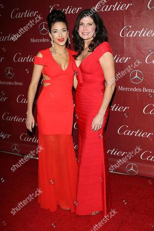 Stock Image of Mary Bono Mack and Daughter Chianna Maria Bono