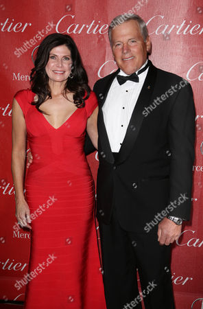 Stock Picture of Mary Bono Mack and Guest